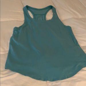 Lululemon love tank pleated. Size 8. Blue.